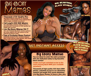 Welcome to Big Ebony Mamas!