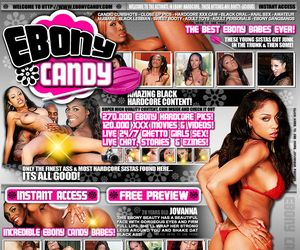 Ebony Candy - The Most Gorgeous Babes Aniwhere Online!