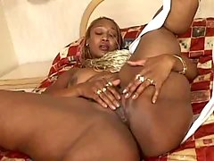 Best ebony porn video with lusty chicks